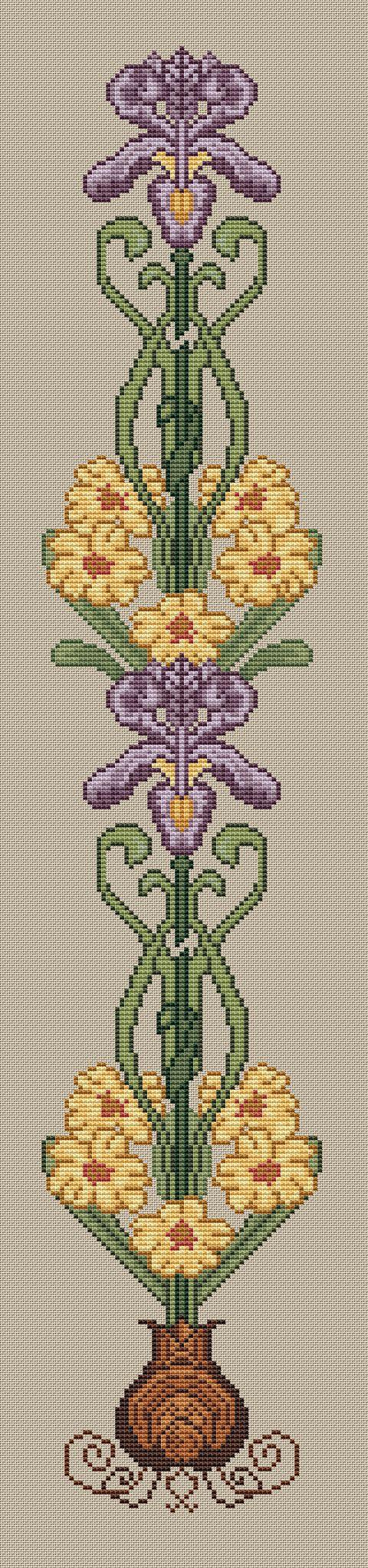 peacock cross stitch kit main image