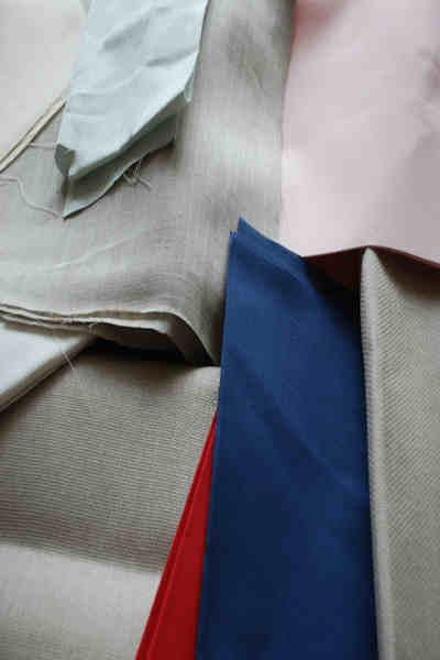 Samples of materials